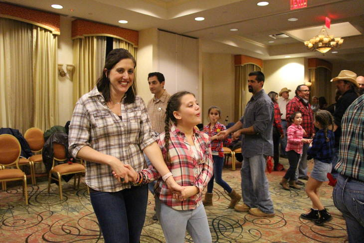 hasbrouck heights girl scouts promenade at the annual