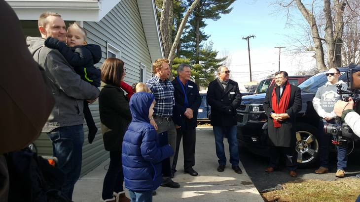 George To The Rescue Tv Team Unveils Roxbury Home