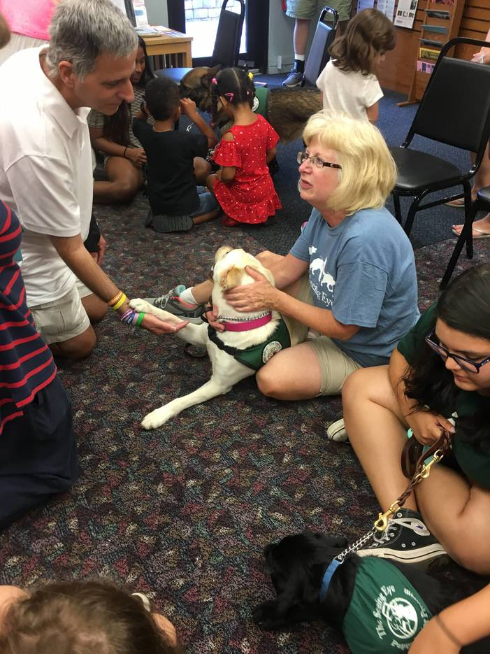Cuteness Overload At Spotswood Public Library With Puppy Pals