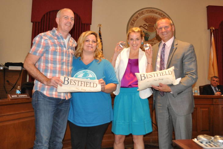 Westfield Resident Meaghan Murphy Named 'Chief Spirit Officer,' Introduces 'Bestfield' Initiative at Town Council Meeting