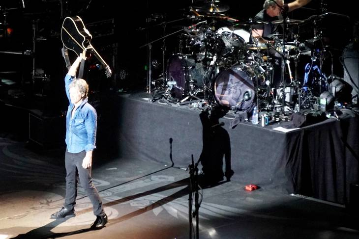 Bon jovi at madison square garden was awesome edison nj Bon jovi madison square garden april 15