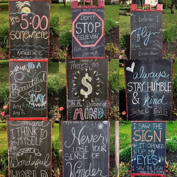 Westfield Resident's Sign Offers Drivers Daily Inspiration