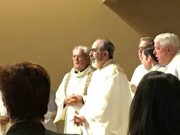 Saint James the Apostle Church in Springfield Hosts Union County Deanery Mass