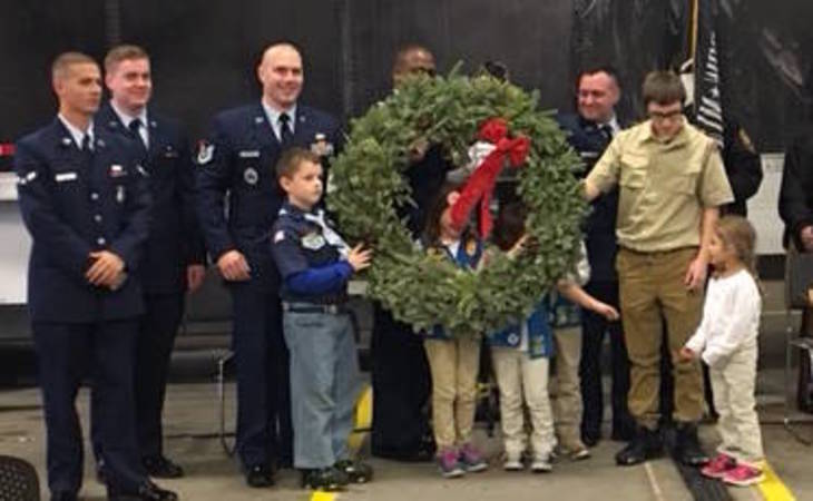 Wreaths Across America to Visit Salisbury Dec. 14th