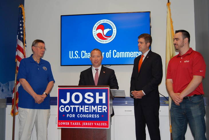 Gottheimer Endorsed by U.S. Chamber of Commerce