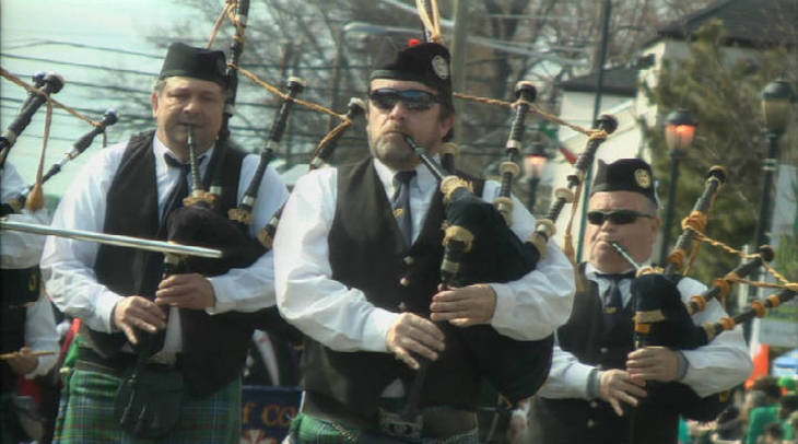 Patrick's Day Parade is this morning in downtown Kalamazoo