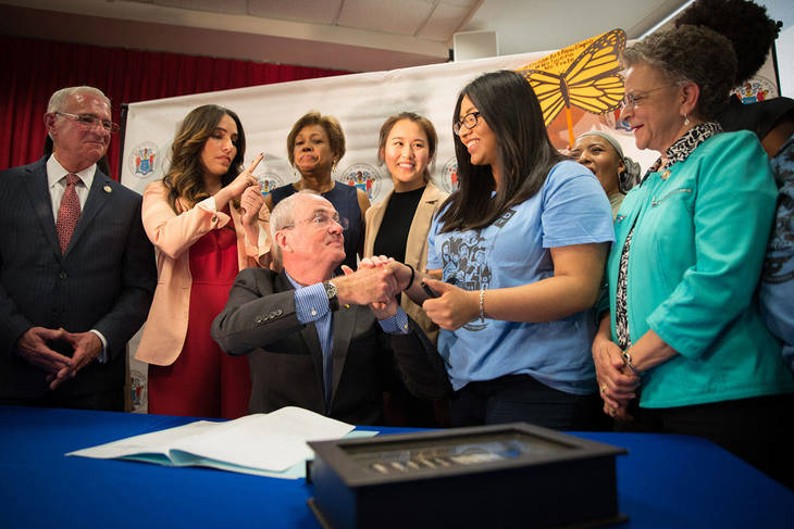 Gov. Murphy signs legislation for DREAMers to apply for financial aid
