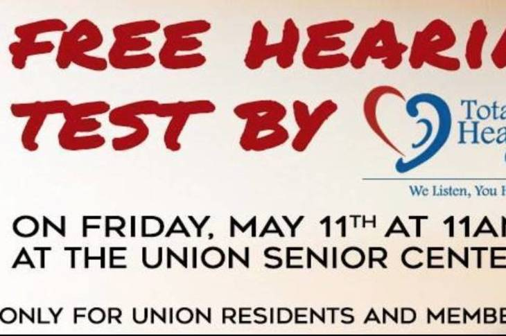Free hearing test for seniors