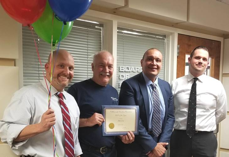 Hillsborough Education Association Honors James Cox