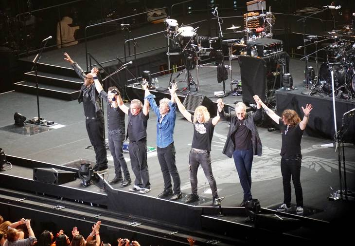 Bon jovi rocks madison square garden soma nj news tapinto for Bon jovi madison square garden