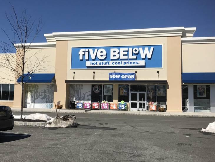 Five Below Opens Location in Wayne Towne Center - Bloomfield NJ News ...