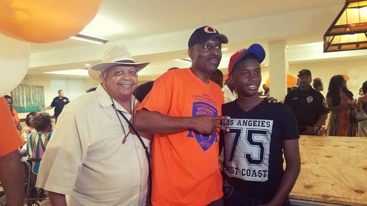 Orange Housing Authority Celebrates National Night Out with Event at Walter G. Alexander Village