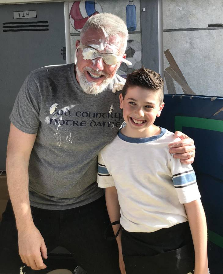 55401b261b64ae0a4976_a_Teacher_Kevin_Haugh_with_Joe_Signorella_after_a_pieing_Courtesy_of_Marisa_Signorella.jpg