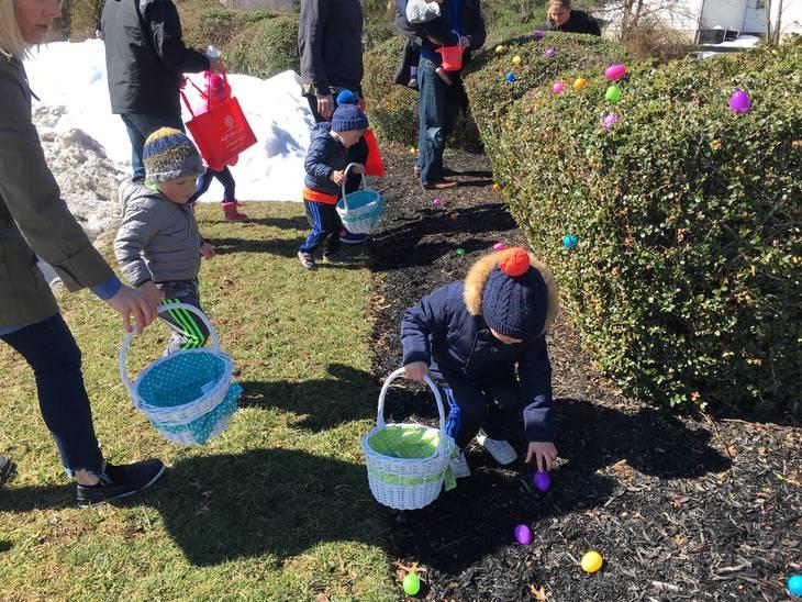 FOP hosts Easter egg hunt