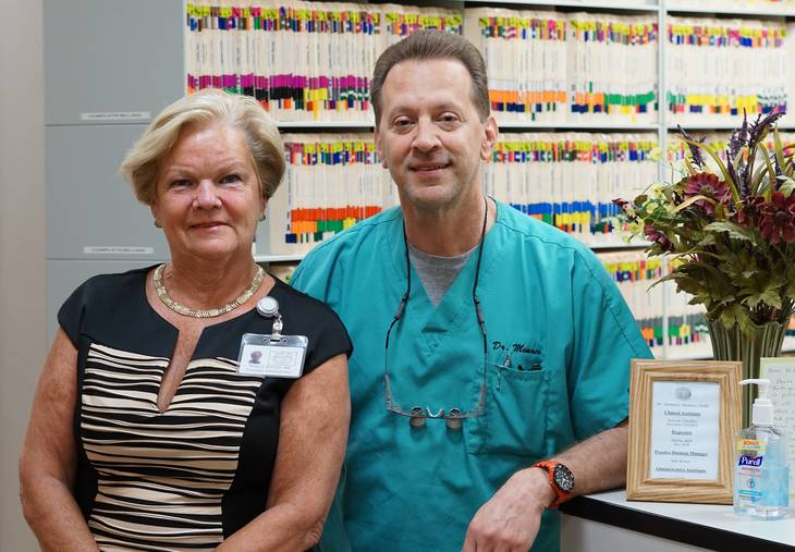 Center for Hope and Fanwood Dentist Quickly Return the Smile to a Patient's Face