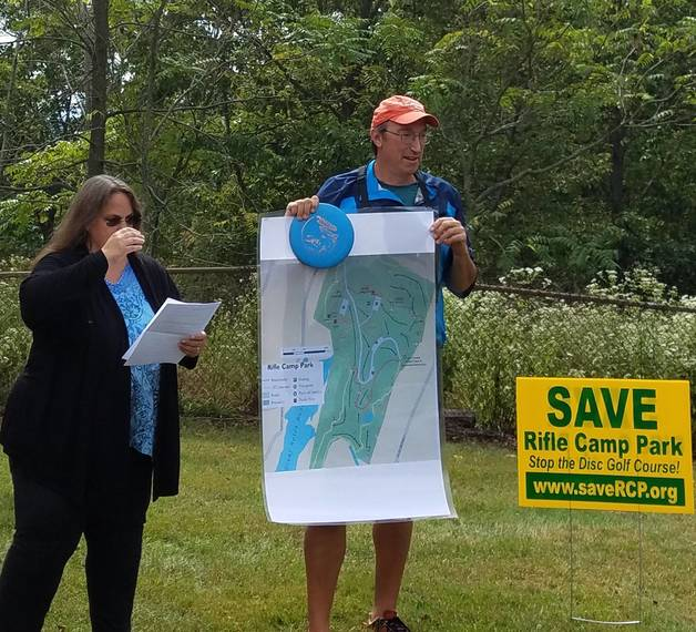 Local Environmental Groups Protest Proposed County Disc Golf Course