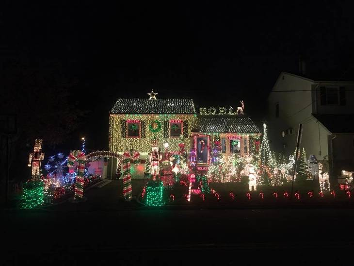 Roselle Park Christmas and Holiday Lighting Contest Reaches for the Stars