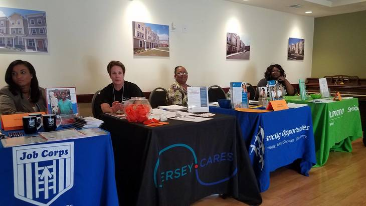 Housing Authority of the City of Orange  Draws Eager Job Seekers at Job Fair