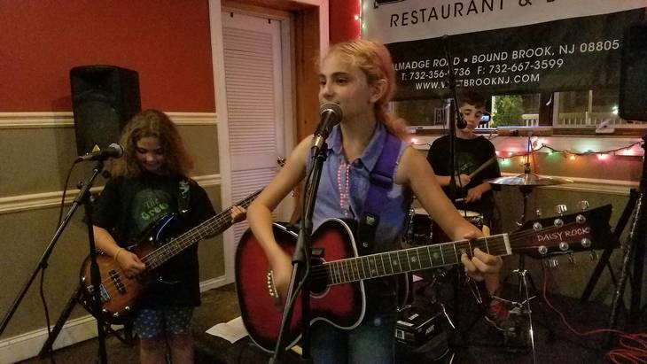 Bridgewater's Green Planet Band Performs in Bound Brook
