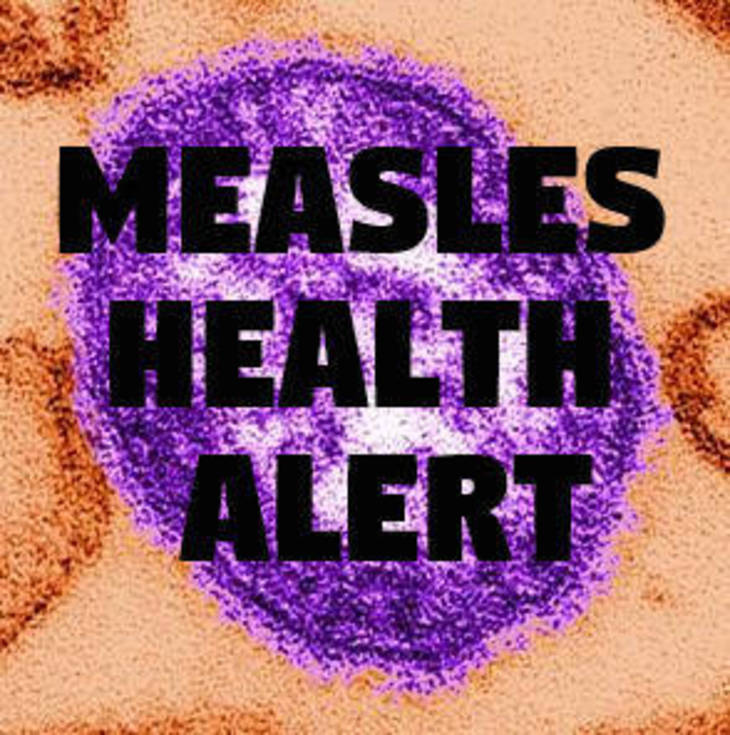 Health alert: Traveler infected with measles visited Newark Airport