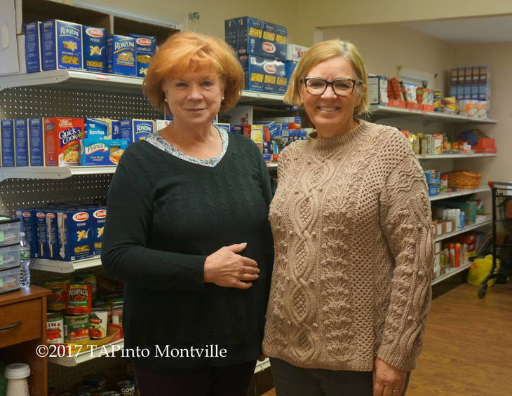 5e807871a1568a0a9ea0_a_Barbie_Schulien_and_Rev._Lesley_Hay_of_Good_Shepherd_Church_work_a_shift_at_the_Kiwanis_Food_Pantry__2017_TAPinto_Montville.JPG