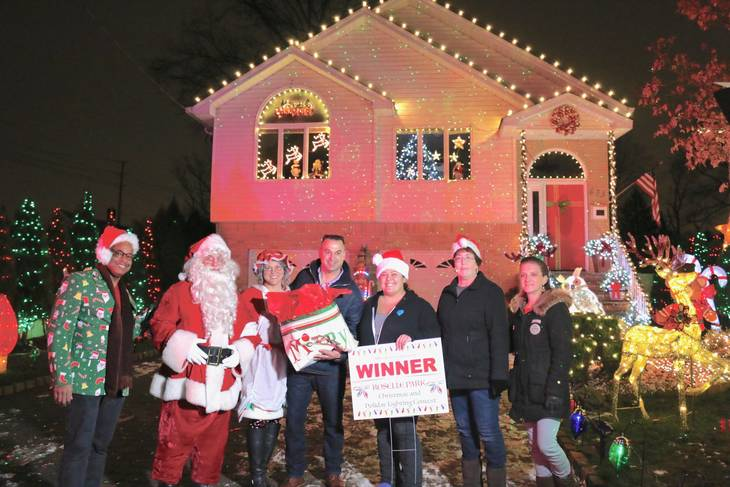 Winners Announced in the Roselle Park Christmas Light Contest