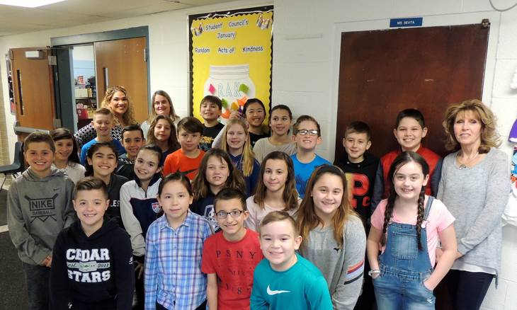 Students recognized for acts of kindness