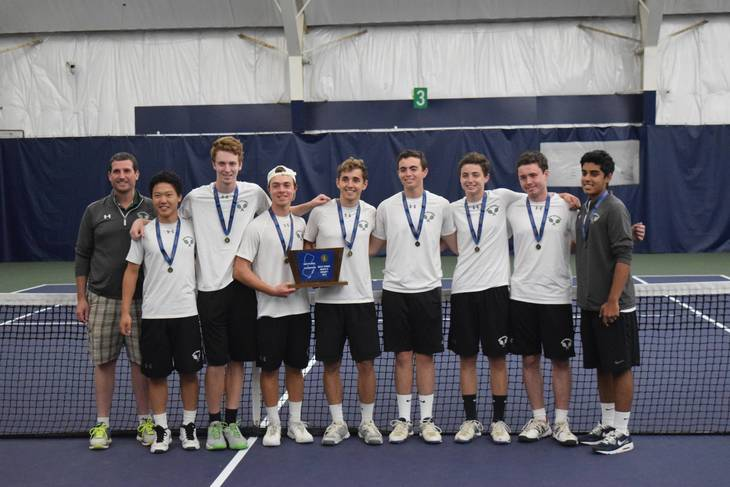 New Providence Boys' Tennis Claims 8th Straight Sectional Title