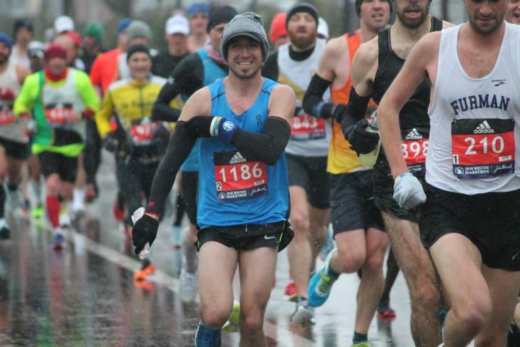 RUNNING: Tom Henry represents Baraboo, finishes Boston Marathon