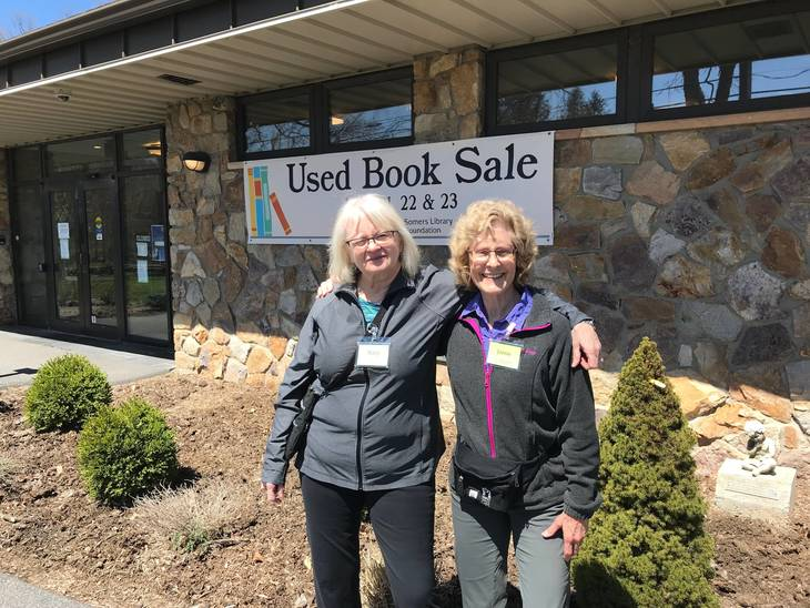 Book Sale Nets Thousands for Library