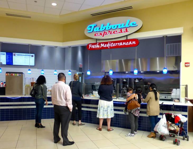 Ribbon Is Cut At Livingston Mall Food Court 39 S New Tabboule Express Livingston Nj News Tapinto