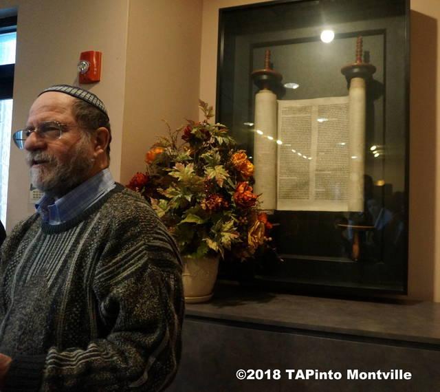 698f4da4364d3f56090a_a_Rabbi_Mark_Finkel_describes_the_circumstances_of_obtaining_the_torah_from_Prague__2018_TAPinto_Montville.JPG