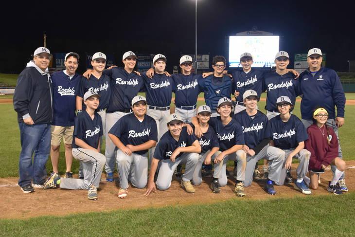 Randolph 14U Fall Baseball Team Wins Championship - Randolph NJ News ...