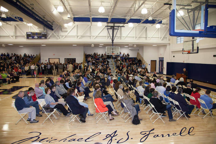 Oratory Prep Opens, Dedicates Game-Changing DeGaeta Hall