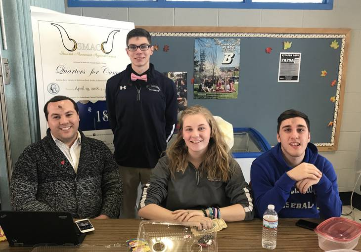 Union Catholic's Student Movement Against Cancer Makes Preparations For Quarters For Cancer Dinner