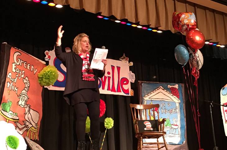 Hannah Caldwell School Celebrates Read Across Ame on Nea Read Across America Best Dr Seuss Images On
