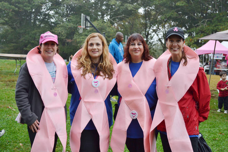 Annual Support-A-Walk for Breast & Ovarian Cancer