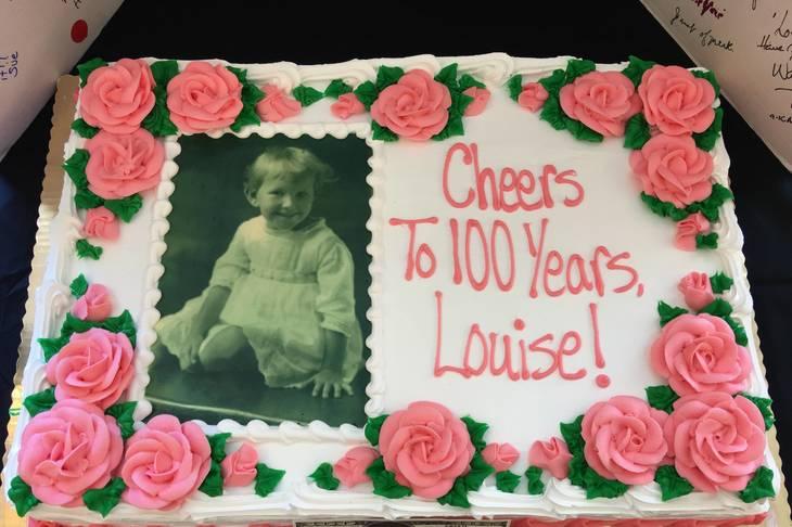 Chatham Hills Celebrates Louise Ammerman's 100th Birthday