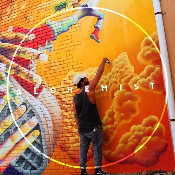 72cf66bd96f644933eb1_Mayfest_1978_SAM_Mural_In_Process.jpeg