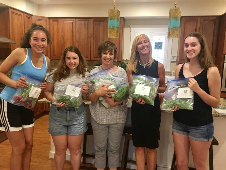 Girls Growing Greens: Giving Back to Others