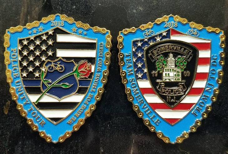 Somerville Hs Students Design Commemorative Coin For Police Unity