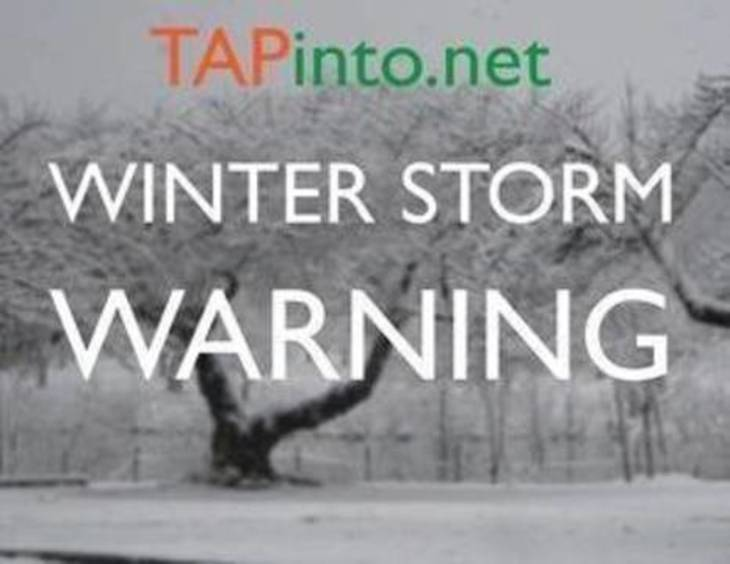 Winter Storm Warning, Watch issued for parts of area starting tonight