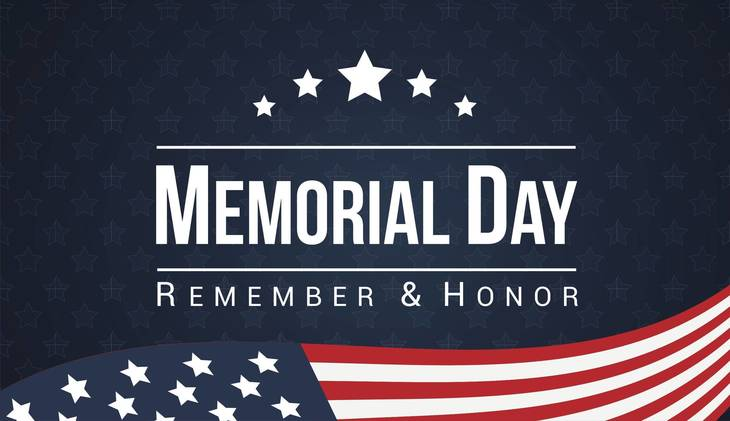 Celebrate holiday weekend with Memorial Day parade