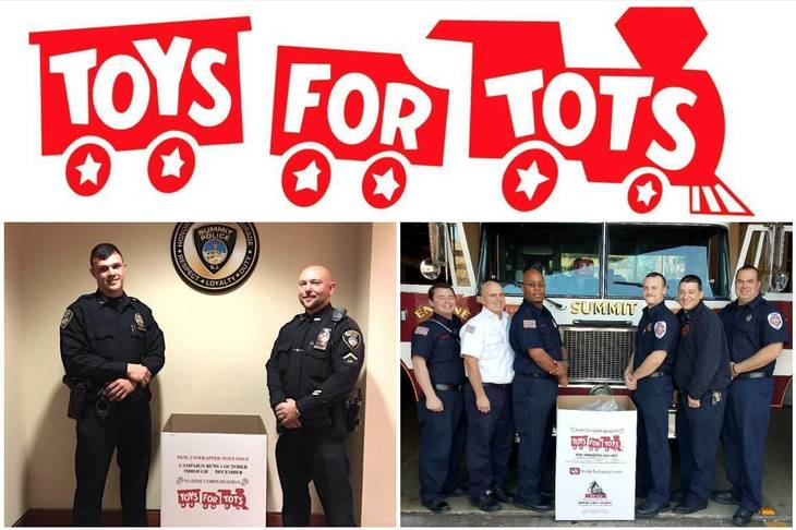 Police Toys For Tots 2017 : Annual summit toys for tots drive underway through dec