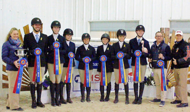 Local College Equestrians Head To Harrisburg For Ihsa