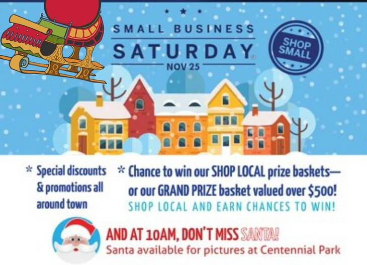 new providence nj on saturday november 25 new providence will come alive with the kick off to the holiday shopping season with small business saturday