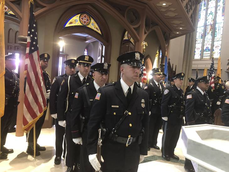 Blue Mass Honors Fallen Police Officers Paterson Nj News