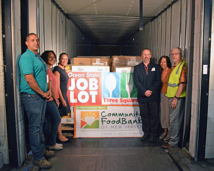 Hunger Action Day Food Donation To Community FoodBank of New Jersey