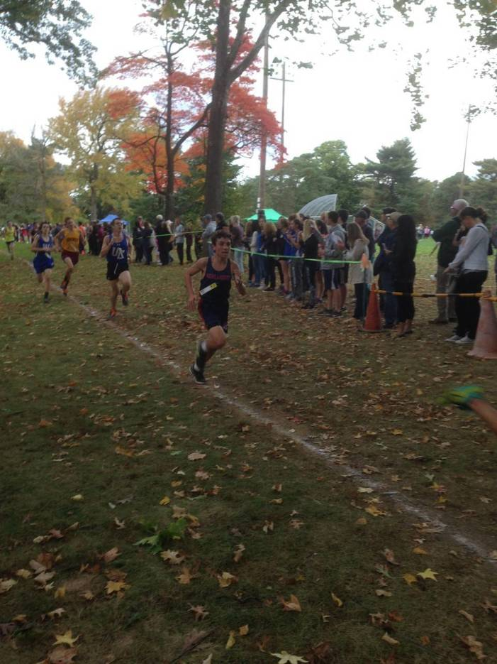 Vanriele Sets Course Record Girls Cross Country Team
