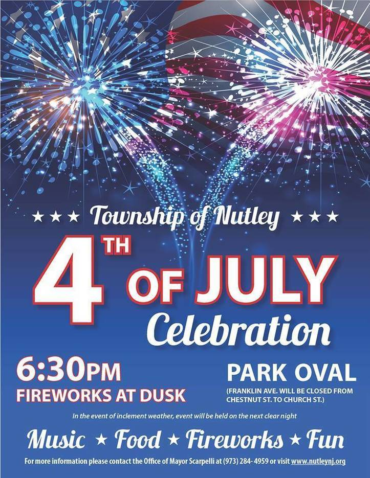 Celebrate 4th Of July 2017 At The Nutley Park Oval